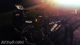 EMS and Police Bike Teams were deployed to respond to any emergencies on the grounds.