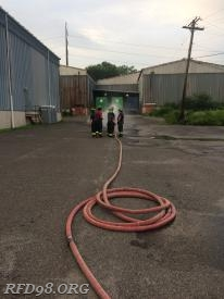 Cleveland Hose Load being deployed