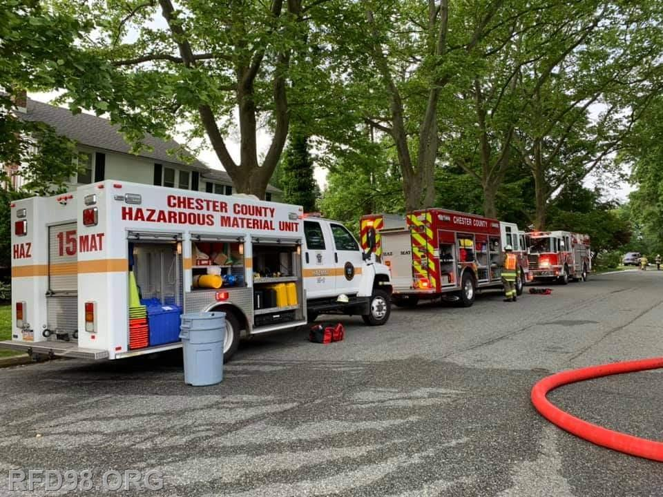 Photo courtesy of Valley Forge Volunteer Fire Company Facebook