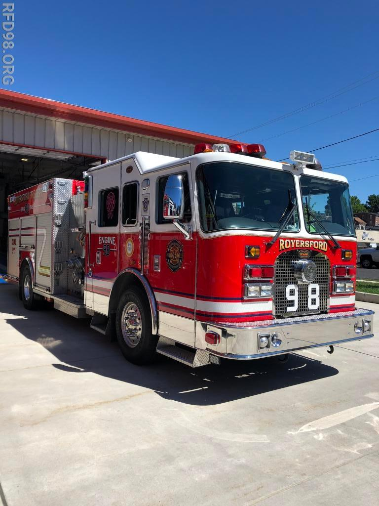 Rfd Signs Agreement To Purchase New Pierce Engine Royersford Fire Pump Diagram Comment